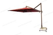 Yandan Direkli Plus Model Şemsiye Tam Açık Hali