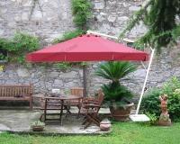 Yandan Direkli Yuvarlak Şemsiye - 01