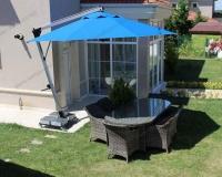 Yandan Direkli Yuvarlak Şemsiye - 08