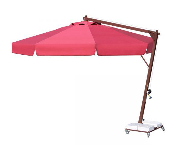 Yandan Direkli Yuvarlak Şemsiye