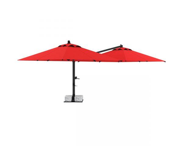Double New Side Pole Umbrella