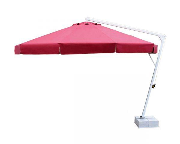 Yandan Direkli Mega Model 10 Kollu Bahçe Şemsiyesi