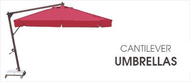 Cantilever Umbrella - Banner